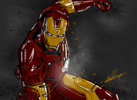 I am Iron Man by Robrkid