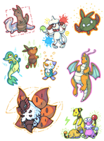 Pokemon Request things