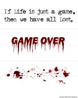 GAME OVER by jaguarman45