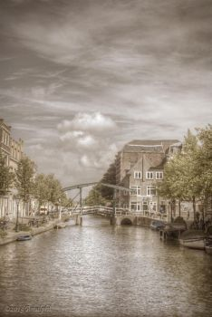 The Moats of Leiden by Amalphi