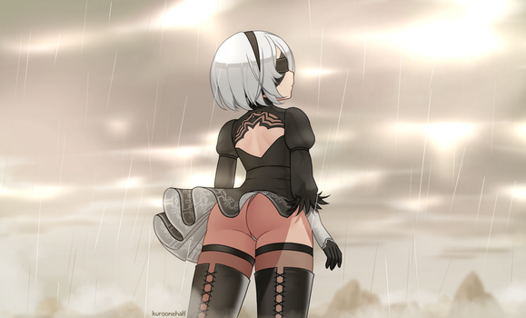 2B by Kuroonehalf