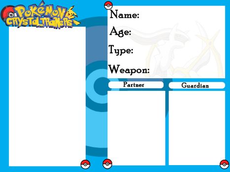 Re-CrystalTrainers - NEW Application by TheShySky