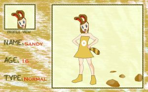 Pokademy Application Sandy by CuboneGirl