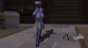 Animated Catwoman by UNDEADGHOST