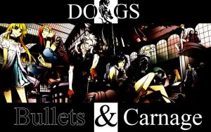 Dogs Bullets and Carnage Wall by Rukiisuta