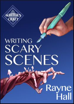 Writing Scary Scenes - Book Cover by RayneHall