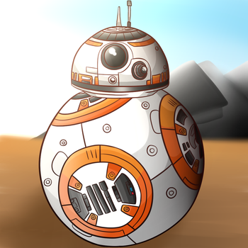 Star Wars- BB-8 by thegamingdrawer