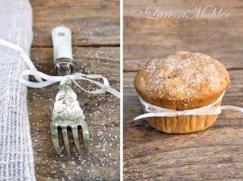Apple Cinnamon Muffin II by Lily-of-the-Vallley