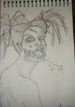 Zombie Chick by Marydoll512