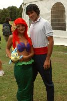Eric and Ariel by MaddMorgana