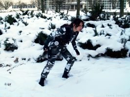 Lara Croft - Special forces, Urban by TanyaCroft
