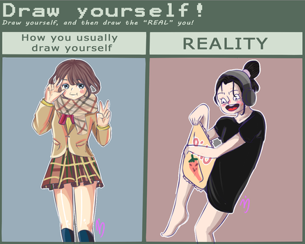 Draw URSELF MEME xD by BerryKiss677