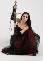 Anett Frozen and sword by anettfrozen