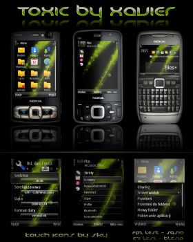 Toxic Symbian theme by Xavier-Themes