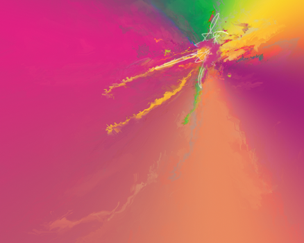 Abstract smudge wallpaper by served-chilled