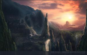 THE FALLS by tigaer