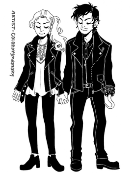 Cute Matching Jackets by colormymemory
