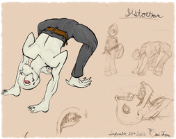 AE: AQ3D LOL: Monster Contest Entry: Distortian by DaiTigris