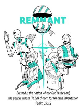 Remnant T-shirt design by iesnoth