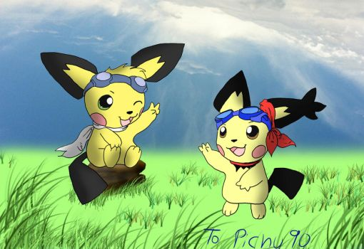 To Pichu90 by Admiral-Kevin