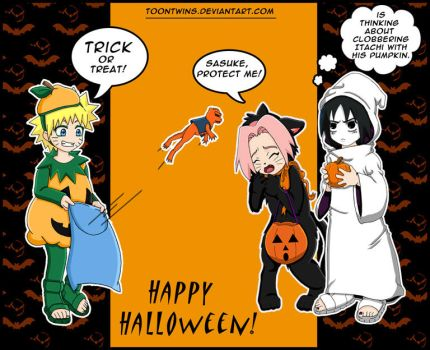 Hop Into Halloween by ToonTwins