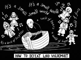 How To Defeat Lord Voldemort by clockworkparadox