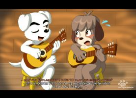 Guitar Lessons with KK Slider by Coshi-Dragonite