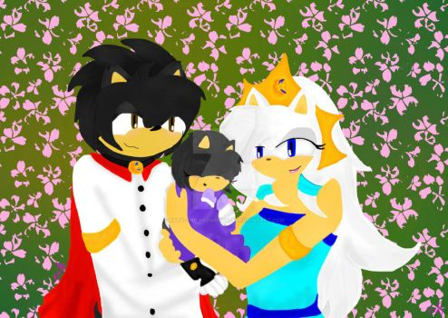 Familia Real de Aureola by katy-the-hedgehog25
