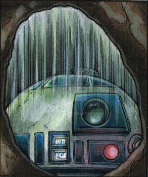 R2D2 left out in the rain :( by Frisbeegod