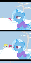 Snowball Fight by TheParagon
