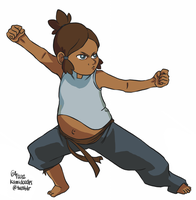 babby!korra - for theavatarrp by kamidoodles