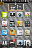 Fusion theme for Iphone by jpapollo