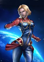 -Patreon- Capt Marvel by cric