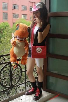 Charmander, Touko choose you!! by konohanauzumaki