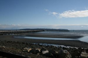 White Rock Beach by Blinded-Stock