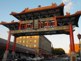Stock: Chinatown Overhead by Stock-By-Michelle