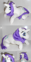 Rarity plush by Frootsalad