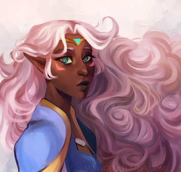 Princess Allura by m-angela