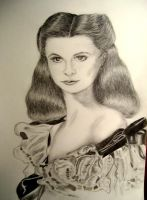 Vivien Leigh by mitsuishi