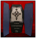 Front View Gothic Card by blackrose1959