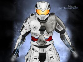 Halo x Assassin's Creed by Scottie-theNerd