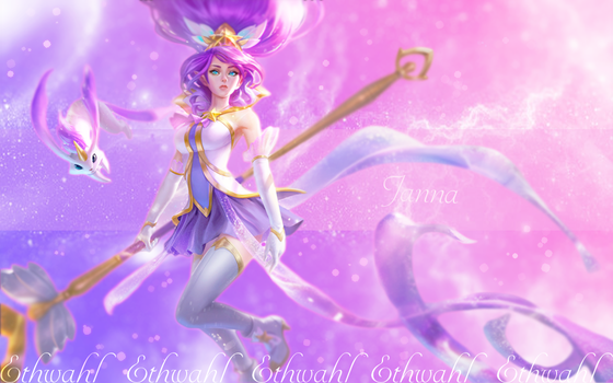 Star Guardian Janna Background by Ethwahl