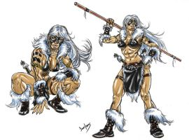 DSC_Barbarian Black Cat by danitoons