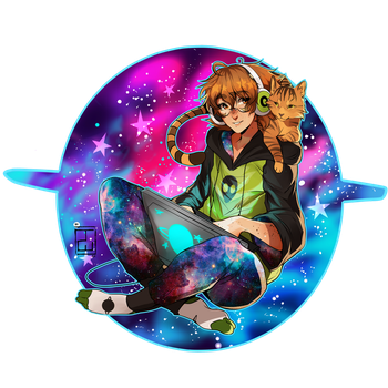 Space Pidge | SPEEDPAINT by AgentWhiteHawk