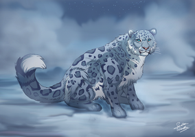 Snow King by TheMysticWolf
