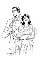 Lois and Clark by Guy-Bigbelly