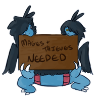 Mages and Thieves Needed by Forestii