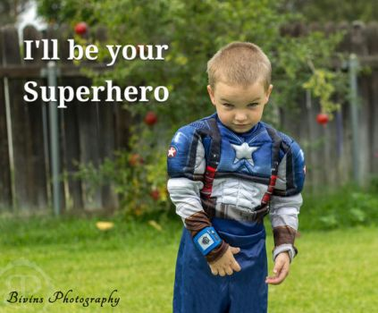 I'll be your Superhero by BivinsPhotography