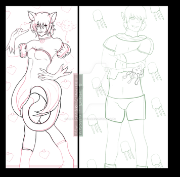 ::Strawberries and Quiches WIP:: by PrettySkitty16