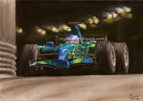 Tunnel - Jenson Button by the-frozen-bunny